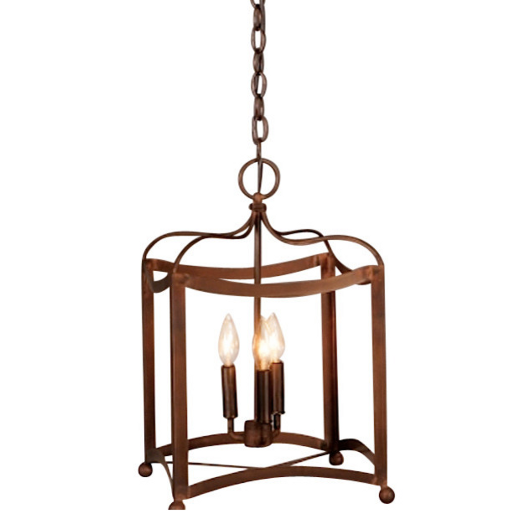 St. James Dalton Copper Chandelier