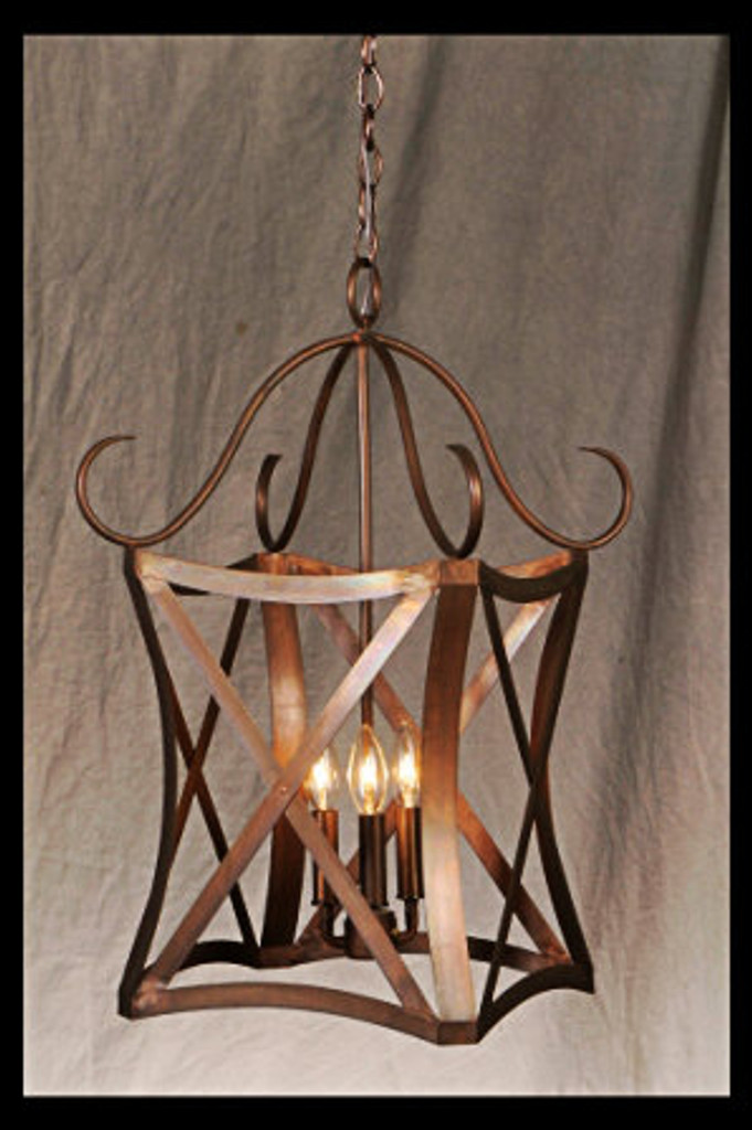 St. James Versailles Copper Chandelier