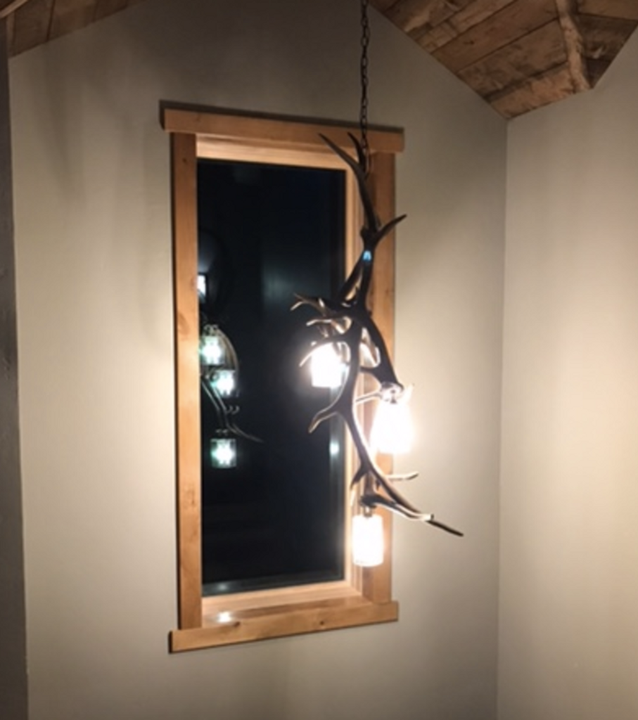Elk Antler Pendant Light
