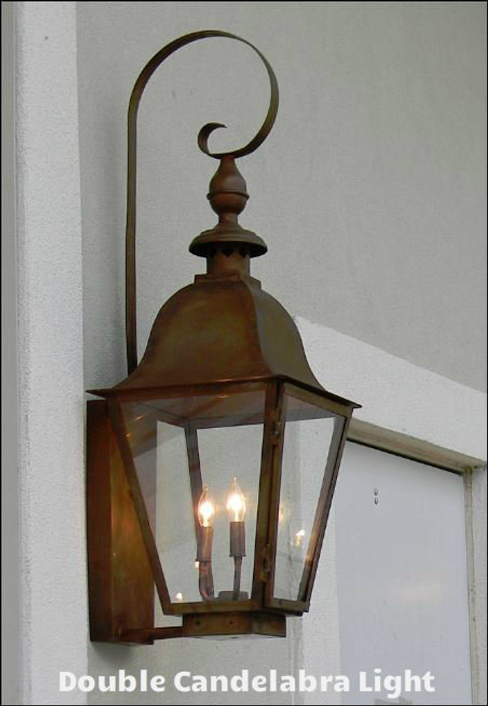 GAS/ELECTRIC LIGHTING OPTIONS