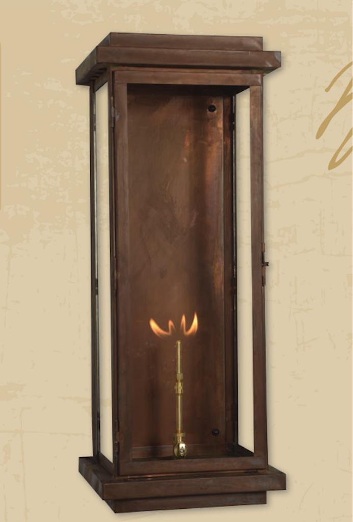 St. James Winnipeg Copper Lantern