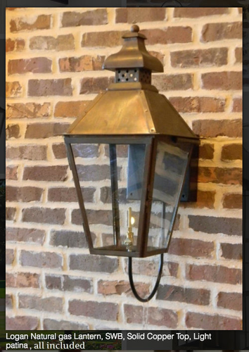 Discount St James Logan Copper Lanterns Free Shipping