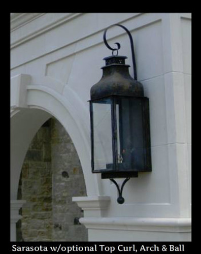 St. James Sarasota Copper Lantern