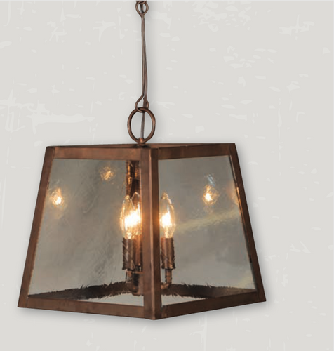 St. James Abilene Copper Chandelier