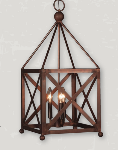 St. James Cortland Copper Chandelier