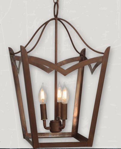 St. James Needham Copper Chandelier