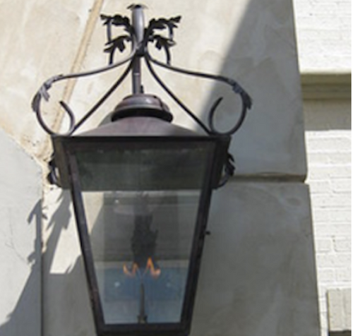 St. James Weatherford Copper Lantern