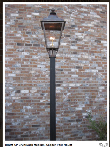 YARD LAMP POSTS