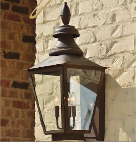 St. James Birmingham Copper Lantern