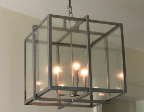 St. James Boston Cage Copper Chandelier