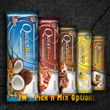 Quest bars have the best nutritional profile of any protein bar on the market bar none. We've got 20g of protein, 4g non-fibre carbs and no sugar alcohols or other junk. And most importantly our bars taste better than any other bar.