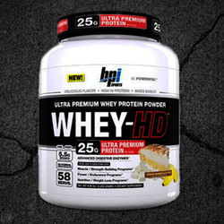 "Whey-HD™ is a modern day masterpiece. It is a smooth, delicious, mouthwatering scoop of unadulterated pure ""Ultra Premium"" whey protein powder. Formulated to dissolve easily and digest quickly – Whey-HD™ is the absolute best.*"