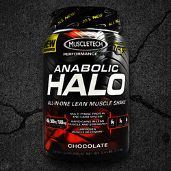New and improved Anabolic Halo® is a powerful all-in-one formula designed to be taken once daily to drive muscle growth, strength, and recovery while training hard.