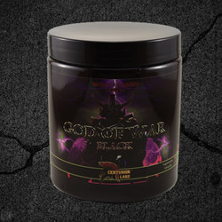God Of War Black is our Pre training supplement consisting of multiple powerhouse ingredients synergistically working together to provide maximum pump, focus, and endurance during any type of training.