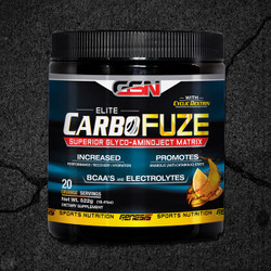 CarboFuze sets the standard when it comes to providing the body what it needs to perform at it's maximum potential during times of extreme physical activity.