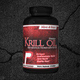 Premium Powders Krill Oil has a duel spectrum formula with all the benefits of Krill Oil, and Fish Oil. Provide your body with a giant blast of Omega-3 Fatty Acids complete with EPA, DHA, and other Fatty Acids with Premium Powders Krill Oil.