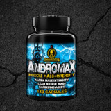 ANDROMAX benefits: Tetrasorb Delivery Technology to increase lean muscle mass, intensity, hardening, bloat reduction and libido