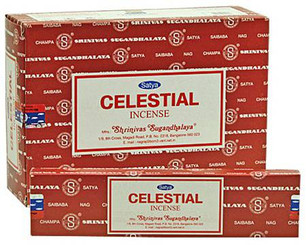 Satya Celestial Incense, 40 grams