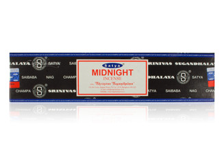 Satya Midnight Incense, 40 grams