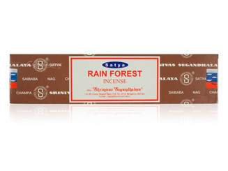 Satya Rain Forest Incense, 40 grams