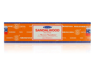 Satya Sandalwood Incense, 40 grams