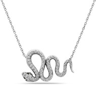 Viper Diamond Necklace