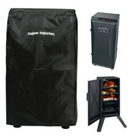 "Cajun Injector 30"" Tall Deluxe Electric Vertical Weatherproof Smoker Cover"
