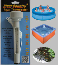 "River Country® Floating Pool & Hot Tub ""AQUA Thermometer"""