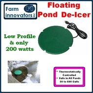 Energy Wise Heated Floating Pond Saucer