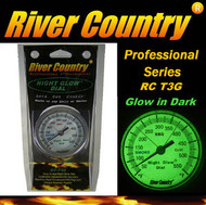 "3"" River Country 'NIGHT GLOW' Adjustable BBQ, Grill, Smoker & Pit Thermometer  (RC-T3G)"