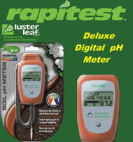 Rapitest / Lusterleaf Deluxe Digital Ph Plus Soil and Garden Tester