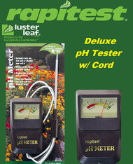 Rapitest / Luster Leaf  PH Meter with Probe