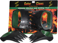 Gators Claws™--The Ultimate Kitchen and Grill Hand Tool for Lifting, Holding, Shredding Meats, and Tossing Pasta's and Salads