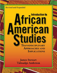 Introduction to African American Studies-T. Anderson and J. Stewart