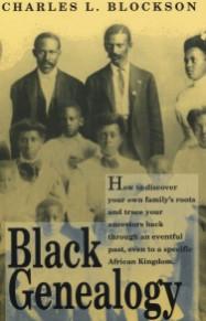 Front cover: Black Genealogy
