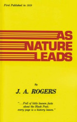 Front cover: As Nature Leads