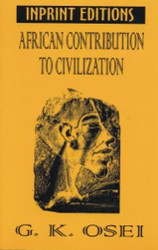 Front cover: African Contributions to Civilization