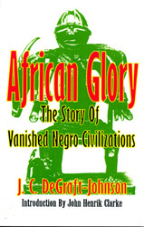 Front cover: African Glory: The Story of Vanished Negro Civilizations