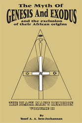 Front cover: The Myth of Genesis and Exodus and the Exclusion of Their African Origins
