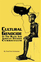 Front cover: Cultural Genocide in the Black and African Studies Curriculum