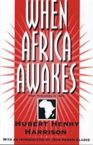 Front cover: When Africa Awakes