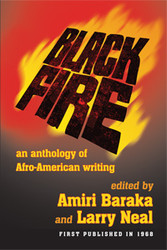 Front cover: Black Fire: An Anthology of Afro American Writing