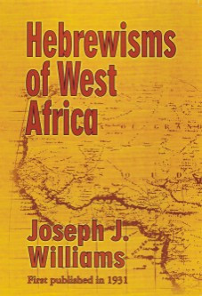 Front cover: Hebrewisms of West Africa