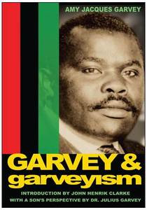 Front cover:  Garvey & Garveyism