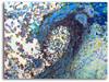 Finding Peace abstract wave art by Tamara Kapan