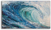 Original Acrylic Wave Painting by Tamara Kapan titled Frost