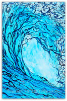 Original Wave Painting by Tamara Kapan titled Liquid Courage