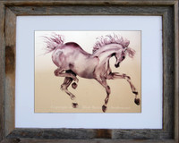 Prancer - Watercolor horse print by Dotty Reiman