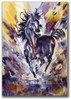 Western horse print by Dotty Reiman titled Runaway