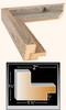 Barn wood frame profile